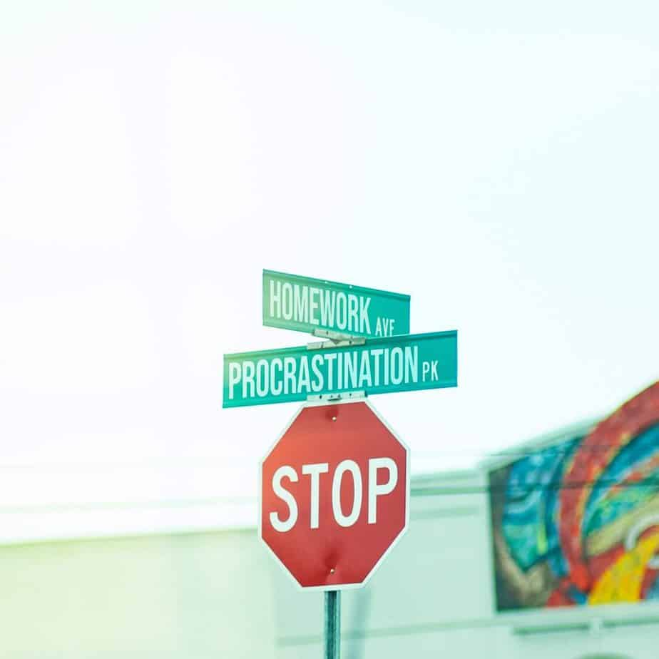 Stop à la procrastination et au stress