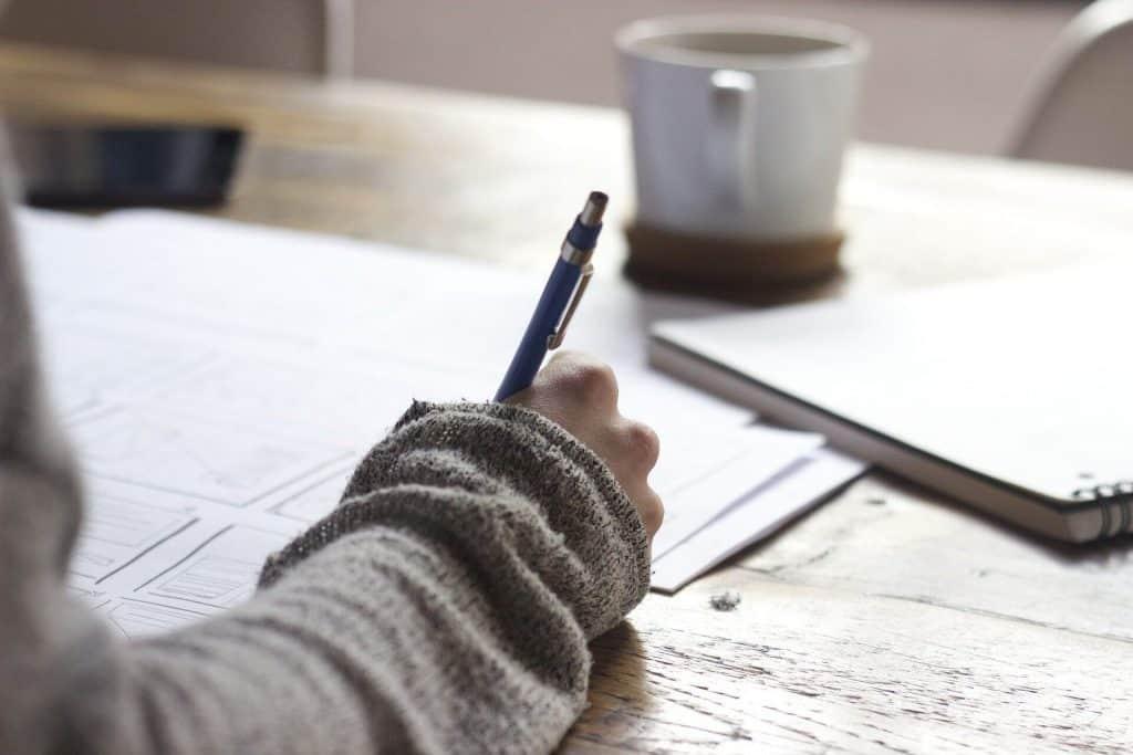 Écrire tout ce que l'on ressent