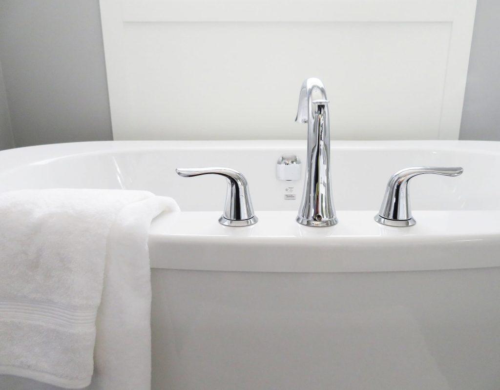 Prenez un bain chaud pour réduire le stress