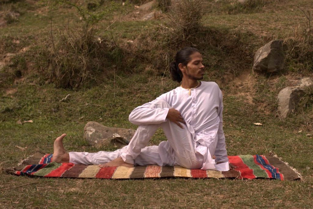 Suite de l'exercice pour se relaxer contre l'angoisse