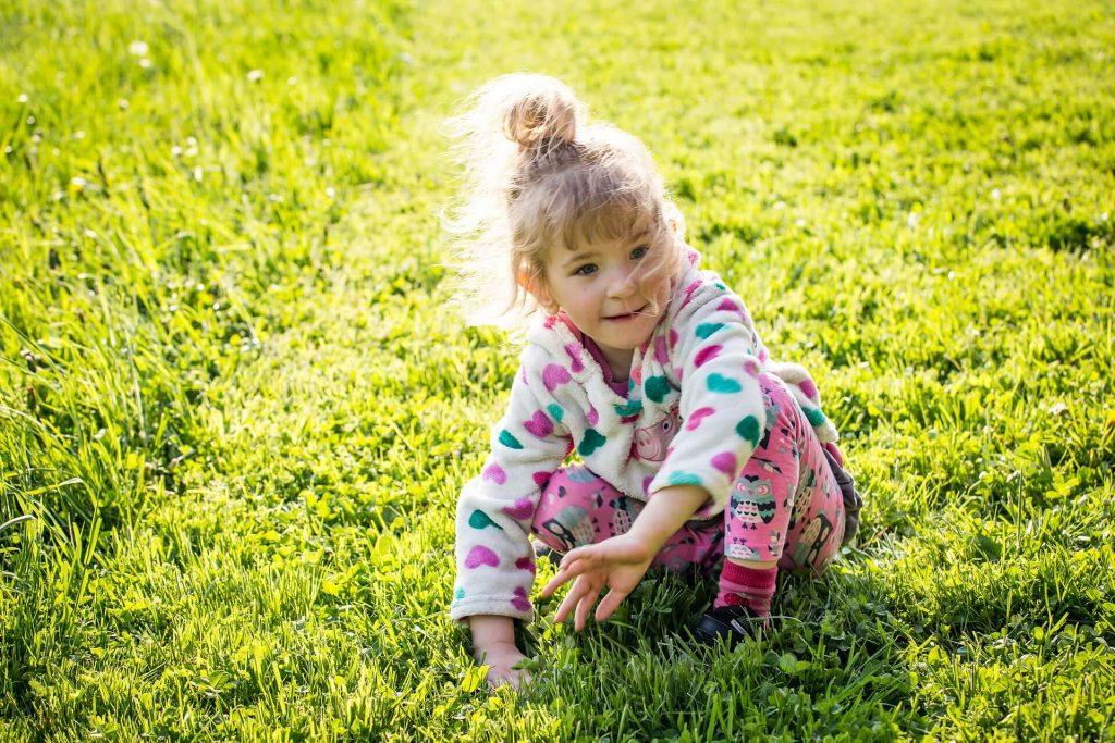 Soualger le stress d'un petit enfant