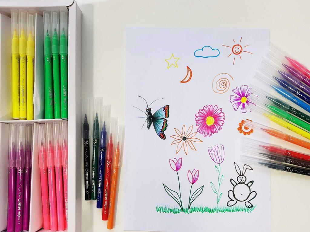 Crayons anti-stress