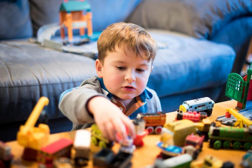 Soulager le stress d'un petit enfant