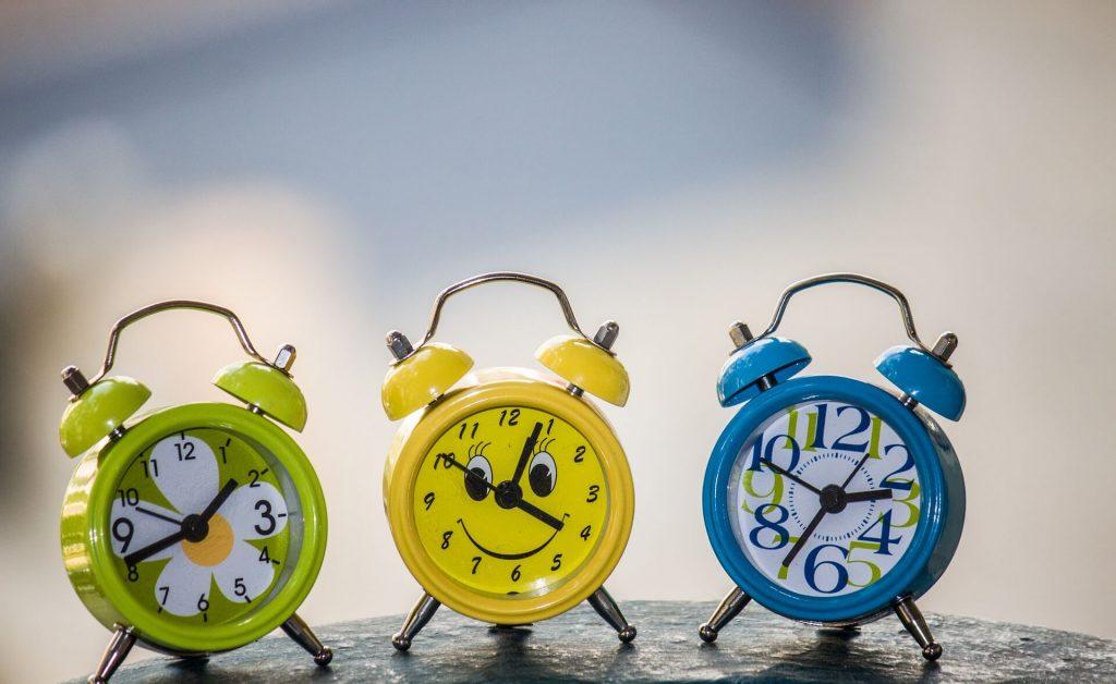 La gestion des horaires pour un enfant